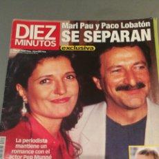 Coleccionismo de Revista Diez Minutos: REVISTA DIEZ MINUTOS , NÚMERO 2534 , AÑO 2000. Lote 206403900