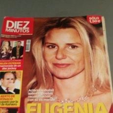 Coleccionismo de Revista Diez Minutos: REVISTA DIEZ MINUTOS , NÚMERO 2675 , AÑO 2002. Lote 206403995