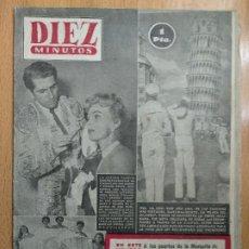 Coleccionismo de Revista Diez Minutos: REVISTA DIEZ MINUTOS. 1953. NUM. 108 - ZSA-ZSA GABOR, DANIEL GELIN, MISES ITALIANAS. Lote 206471082