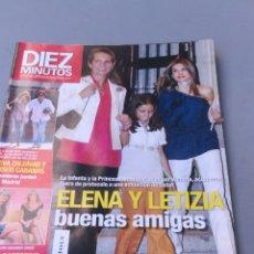 Coleccionismo de Revista Diez Minutos: REVISTA DIEZ MINUTOS , NÚMERO 3082. Lote 206760088