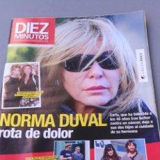 Coleccionismo de Revista Diez Minutos: REVISTA DIEZ MINUTOS , NÚMERO 3090. Lote 206760696
