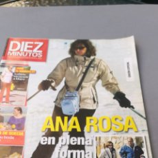 Coleccionismo de Revista Diez Minutos: REVISTA DIEZ MINUTOS , NÚMERO 3003. Lote 206760952