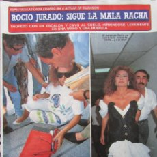 Collezionismo di Rivista Diez Minutos: RECORTE REVISTA DIEZ MINUTOS Nº 1979 1989 ROCIO JURADO 4 PGS. Lote 207175230