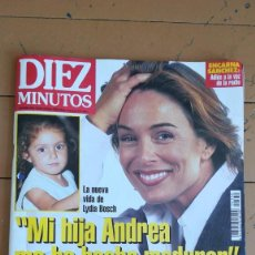 Coleccionismo de Revista Diez Minutos: DIEZ MINUTOS, LYDIA BOSCH, ANA OBREGON, ROCIITO, PEPE NAVARRO, ETC. 1996. Lote 207192511