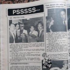 Coleccionismo de Revista Diez Minutos: RECORTE REVISTA -- INMA DE SANTIS WAL DAVIS SIMON ANDREU -- DIEZ MINUTOS 28 JUNIO 1975. Lote 207392831