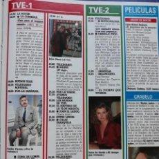 Coleccionismo de Revista Diez Minutos: RECORTE REVISTA -- INMA DE SANTIS EMILIO VARELA EDUARDO SOTILLOS JULIA OTERO - DIEZ MINUTOS. Lote 207393282
