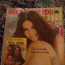 Coleccionismo de Revista Diez Minutos: DIEZ MINUTOS N 1196 - 27 JULIO 1974 - SARA MONTIEL, INMA DE SANTIS, BLANCA ESTRADA, MARTHE KELLER. Lote 207436283