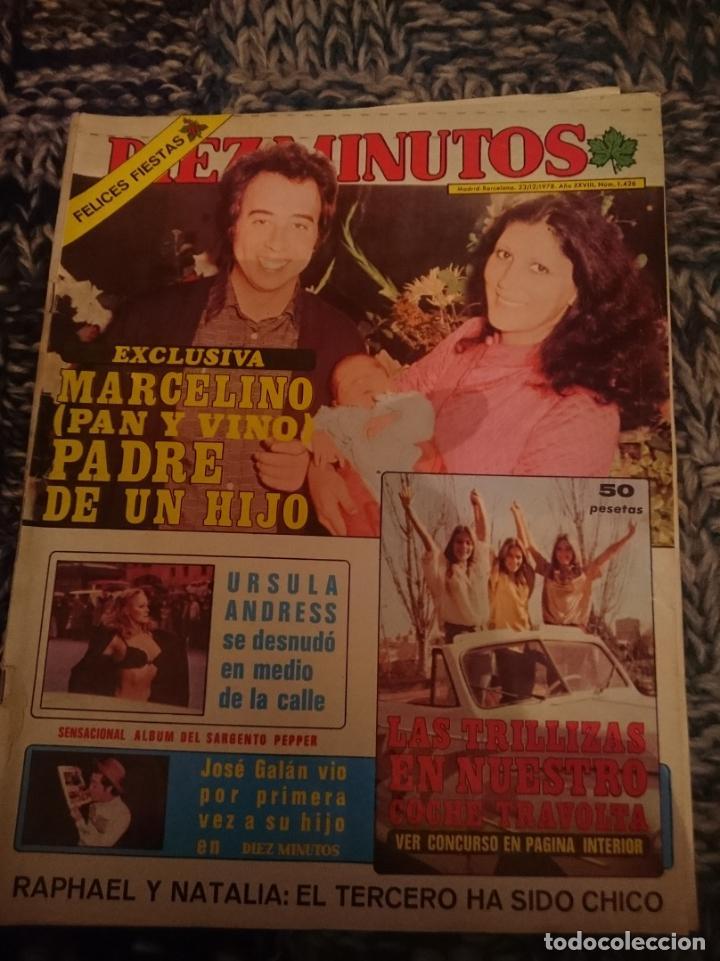 DIEZ MINUTOS AÑO 1978 - INMA DE SANTIS -CAROLINA DE MONACO -URSULA ANDRESS -LUIS DEL OLMO (Coleccionismo - Revistas y Periódicos Modernos (a partir de 1.940) - Revista Diez Minutos)