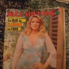 Coleccionismo de Revista Diez Minutos: DIEZ MINUTOS - N 1223 - FEBRERO 1975 - INMA DE SANTIS -BLANCA ESTRADA - POSTERS FABIO TESTI Y VIJU. Lote 207436435