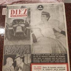 Coleccionismo de Revista Diez Minutos: REVISTA DIEZ MINUTOS AÑO 1952 NUM.68. Lote 207443726