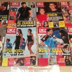 Coleccionismo de Revista Diez Minutos: LOTE DE REVISTAS DÍEZ MINUTOS. Lote 208247962