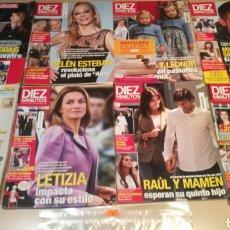 Coleccionismo de Revista Diez Minutos: LOTE DE REVISTAS DÍEZ MINUTOS. Lote 208248067