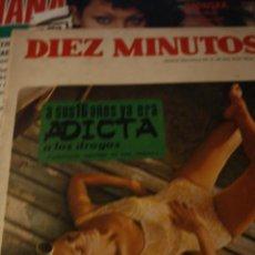 Coleccionismo de Revista Diez Minutos: ELSA BAEZA MARISOL GONZALEZ LOS BRINCOS SALOME DIEZ MINUTOS Nº 878 1968. Lote 208313248