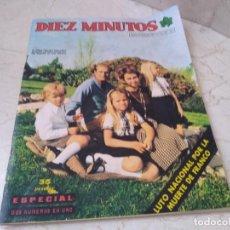 Coleccionismo de Revista Diez Minutos: ANTIGUA REVISTA 10 MINUTOS LUTO POR FRANCO AÑO 1975. Lote 208578992