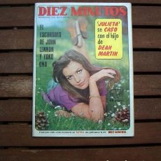 Coleccionismo de Revista Diez Minutos: NINO BRAVO, URSULA ANDRESS, OLIVIA HUSSEY, MARK SLADE, JOHN LENNON, ODILE RODIN, CATHERINE SPAAK. Lote 208699847