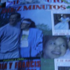 Coleccionismo de Revista Diez Minutos: PORTADA Y REPORTAJE DIEZ MINUTOS Nº 1603 ISABEL PANTOJA PAQUIRRI. Lote 208888791