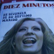 Coleccionismo de Revista Diez Minutos: ROCIO DURCAL SALVADOR DALI REVISTA DIEZ MINUTOS Nº 962 1970. Lote 208890808