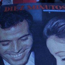 Coleccionismo de Revista Diez Minutos: JULIO IGLESIASJOHN LENNON BEATLES MIGUEL BOSE CONCHA VELASCO MANUEL GIL DIEZ MINUTOS Nº 1014. Lote 208891201