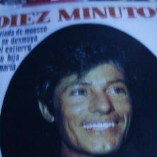 Coleccionismo de Revista Diez Minutos: GEORGE CHAKIRIS JOSE LUIS AZORES MASSIEL LOS BRAVOS KECIA BERTEL DIEZ MINUTOS Nº 876. Lote 208897680