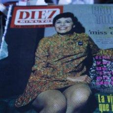 Coleccionismo de Revista Diez Minutos: CONCHA VELASCO SACHA DISTEL CRISTINA GALBO CLAUDIO VILLA ELKE SOMMER MARISOL 67 DIEZ MINUTOS Nº 824. Lote 208942427