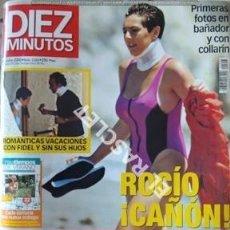 Coleccionismo de Revista Diez Minutos: ANTIGÜA REVISTA DIEZ MINUTOS - Nº 2553 - AÑO 2000. Lote 208951552