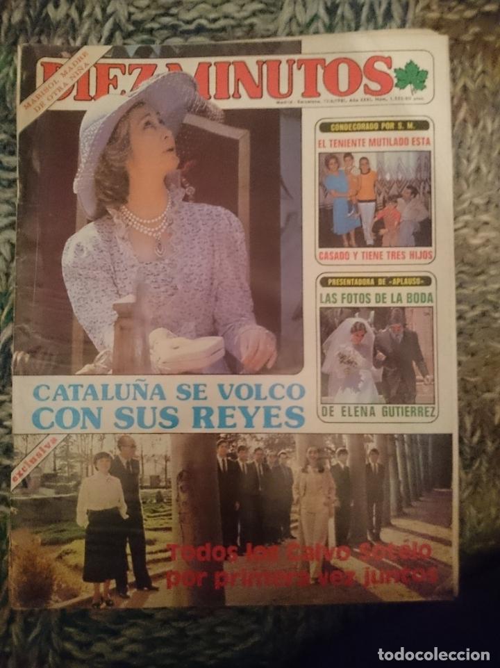 DIEZ MINUTOS - N 1555 - 13 JUNIO 1981 - INMA DE SANTIS - MARIBEL MARTIN - AMANDA LEAR (Coleccionismo - Revistas y Periódicos Modernos (a partir de 1.940) - Revista Diez Minutos)