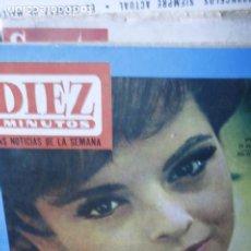 Coleccionismo de Revista Diez Minutos: SOLEDAD MIRANDA BEATLES SANDRA DEE CARRROL BAKER LOLA FLORES DIEZ MINUTOS Nº 726. Lote 210661112