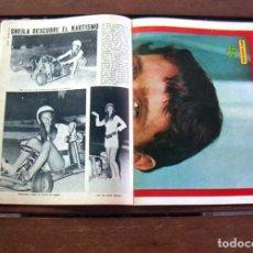 Coleccionismo de Revista Diez Minutos: DIEZ MINUTOS / SHEILA, MEL FERRER, JOSEPH COTTEN, OLGA BISERA, JUAN PARDO, JAY NORTH, NATALIE WOOD. Lote 211578614