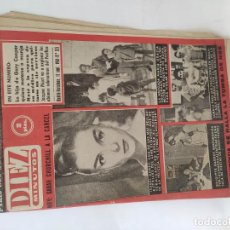 Coleccionismo de Revista Diez Minutos: REVISTA DIEZ MINUTOS Nº 525 - AÑO 1961. Lote 211702213