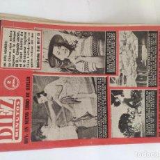 Coleccionismo de Revista Diez Minutos: REVISTA DIEZ MINUTOS MADRID- BARCELONA 10. SEPTIEMBRE 1961 . Nº 524. Lote 211702238