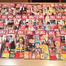 Coleccionismo de Revista Diez Minutos: LOTE DE 40 REVISTAS DÍEZ MINUTOS. Lote 211719750