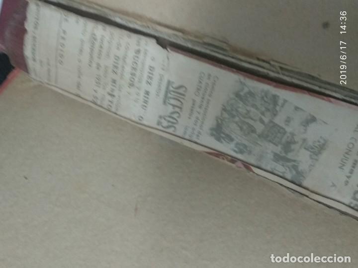 Coleccionismo de Revista Diez Minutos: ANUARIO DE LA REVISTA DIEZ MINUTOS 1953, VALIA 1ptas Tapa suelta por el canto, la tapa de atrás est - Foto 2 - 212252222