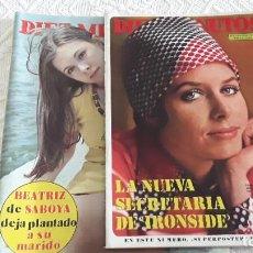 Coleccionismo de Revista Diez Minutos: REVISTAS DIEZ MINUTOS, 1972 Y 1974. Lote 212294570