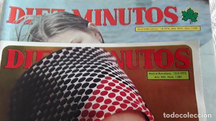 Coleccionismo de Revista Diez Minutos: Revistas Diez Minutos, 1972 y 1974 - Foto 3 - 212294570