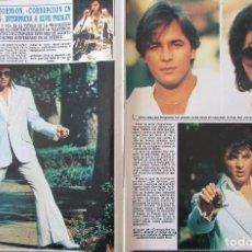 Collectionnisme de Magazine Diez Minutos: RECORTE REVISTA DIEZ MINUTOS Nº 1877 1987 DON JOHNSON. Lote 212336301
