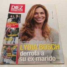 Coleccionismo de Revista Diez Minutos: DIEZ MINUTOS , LIDIA BOSCH DERROTA A SU EX MARIDO, BLANCA Y BORJA BAUTIZAN A ERIC SIN TITA. Lote 212934988