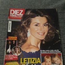 Coleccionismo de Revista Diez Minutos: REVISTA DIEZ MINUTOS , 31 DE DICIEMBRE ,2008 , Nº 2993 - LETIZIA DESPIDE EL AÑO RADIANTE. Lote 212950187
