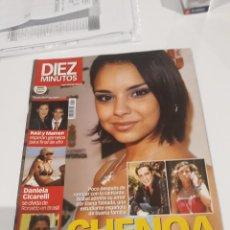 Coleccionismo de Revista Diez Minutos: REVISTA DIEZ MINUTOS NÚMERO 2807, DE FECHA 10 DE JUNIO DE 2005. CHENOA DECEPCIONADA. Lote 212950475