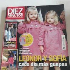 Coleccionismo de Revista Diez Minutos: DIEZ MINUTOS 14 ABRIL 2010. NUM. 3060 LEONOR Y SOFÍA CADA DIA MAS GUAPAS. Lote 212953638