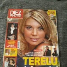 Coleccionismo de Revista Diez Minutos: DIEZ MINUTOS 10 DICIEMBRE 2004. NUM. 2781 - TERELU DEJA A PIPI. Lote 213039026
