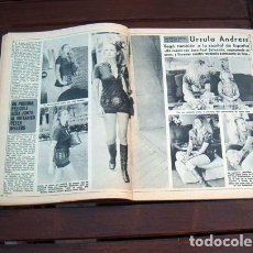 Coleccionismo de Revista Diez Minutos: DIEZ MINUTOS / URSULA ANDRESS EN MADRID, CLAUDE LANGE, MASSIMO RANIERI, PIER ANGELI, AUDREY HEPBURN. Lote 213503247
