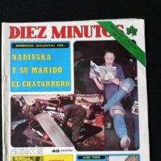 Coleccionismo de Revista Diez Minutos: DIEZ MINUTOS N°1336. Lote 213927296