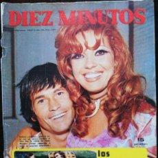 Coleccionismo de Revista Diez Minutos: REVISTA DIEZ MINUTOS 1093 ROSA MORENA PALOMO LINARES RAPHAEL GLORIA CAMARA MINNIE MINOPRIO ORNELLA. Lote 213960175