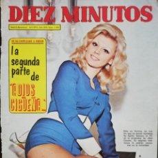 Coleccionismo de Revista Diez Minutos: REVISTA DIEZ MINUTOS 1106 AURORA CLARAMUNT ADIOS CIGÜEÑA ADIOS KITI MANVER ROMY SCHNEIDER DIANA DORS. Lote 213961748