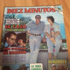 Coleccionismo de Revista Diez Minutos: REVISTA DIEZ MINUTOS 1642 - RAPHAEL - JULIO IGLESIAS. Lote 215104190
