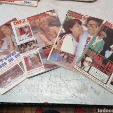 Collectionnisme de Magazine Diez Minutos: 4 DÍEZ MINUTOS. Lote 215710350