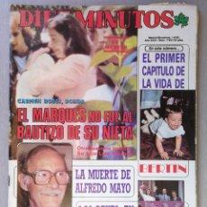 Coleccionismo de Revista Diez Minutos: REVISTA DIEZ MINUTOS , JUNIO 1985 , MIRIAM DE LA SIERRA , CONCHA VELASCO. Lote 215825870