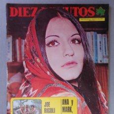 Coleccionismo de Revista Diez Minutos: REVISTA DIEZ MINUTOS , JUNIO 1973 , BRIGITTE BARDOT , JUAN PARDO.. Lote 215826256