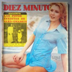 Coleccionismo de Revista Diez Minutos: REVISTA DIEZ MINUTOS , AGOSTO 1975 , PIA GIANCARLO , POSTER JUAN BAU. Lote 215933153