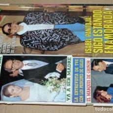 Collectionnisme de Magazine Diez Minutos: REVISTA DÍEZ MINUTOS AÑO 1986 NÚMERO EL SUMARIO FOTOGRAFIADO. Lote 217709022